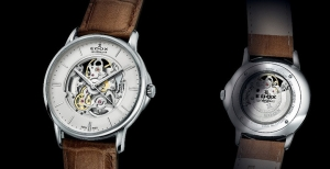 "Edox Les Bémonts introduce ""Shade of time"""