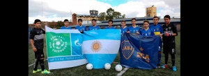 "Boca se prepara para debutar en el Torneo de Street Soccer ""Football for Friendship"""