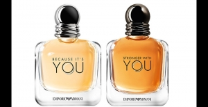 Because it's you & Stronger with you, las nuevas fragancias de Emporio Armani inspiradas en el amor