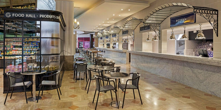 Llega Gourmand Food Hall a Patio Bullrich