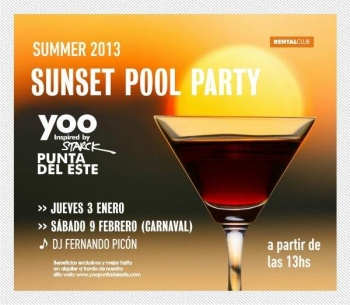 SUNSET POOL PARTY `13 @ YOO Punta del Este