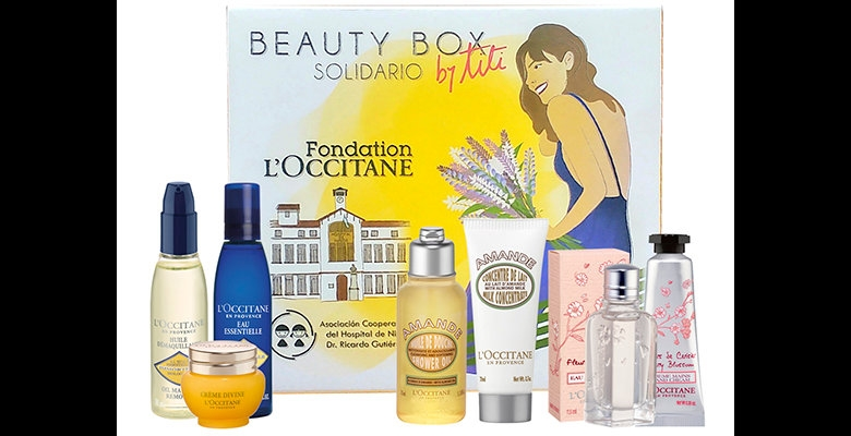 L'Occitane presenta el Beauty Box Solidario