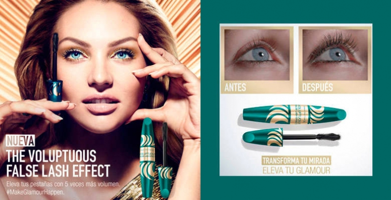 Voluptuous False Lash Effect Mascara de Max Factor  #MAKEGLAMOURHAPPEN