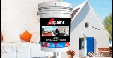"Sui Color presenta ""All Paint"" pintura latex interior/exterior superior con poliuretano"
